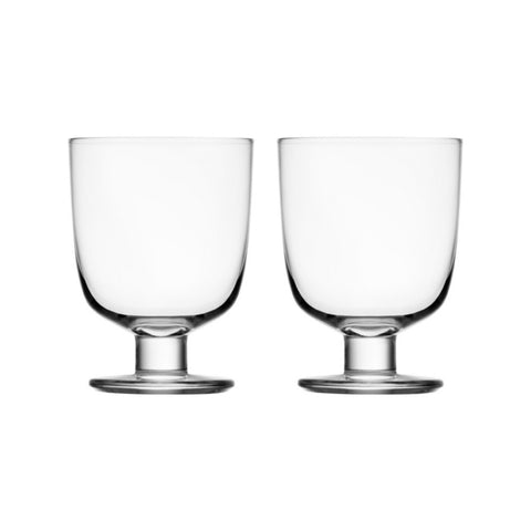 Lempi Glass 34 cl clear 2 pcs