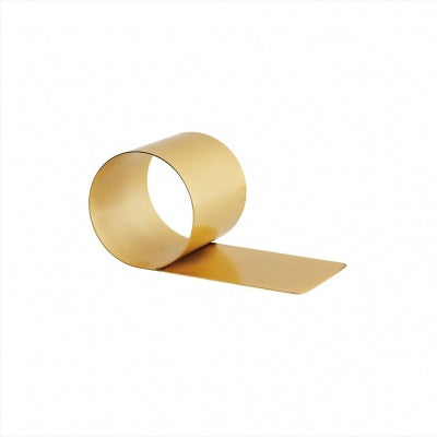 Bookend Brass Plated Metal 10 x 20 cm