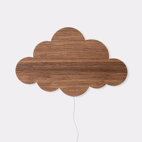Cloud Lamp Smoked Oak