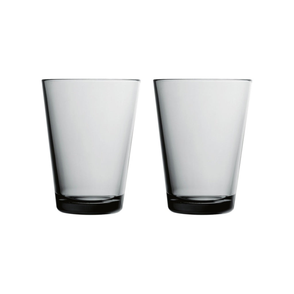 Iittala Kartio glasses grey 2pcs