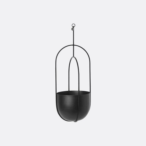 Hanging Deco Pot portavaso nero