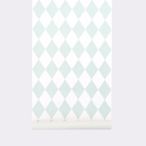 Harlequin Wallpaper Mint