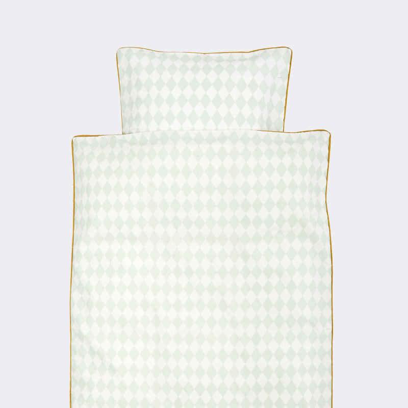 Harlequin Junior Bedding, Mint, by Ferm Living