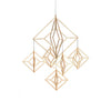Geometric mobile Himmeli by Valona Design
