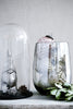 Glass pinecones & acorns in a glass vase by Broste Copenhagen