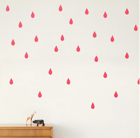 Mini Drops Wallsticker