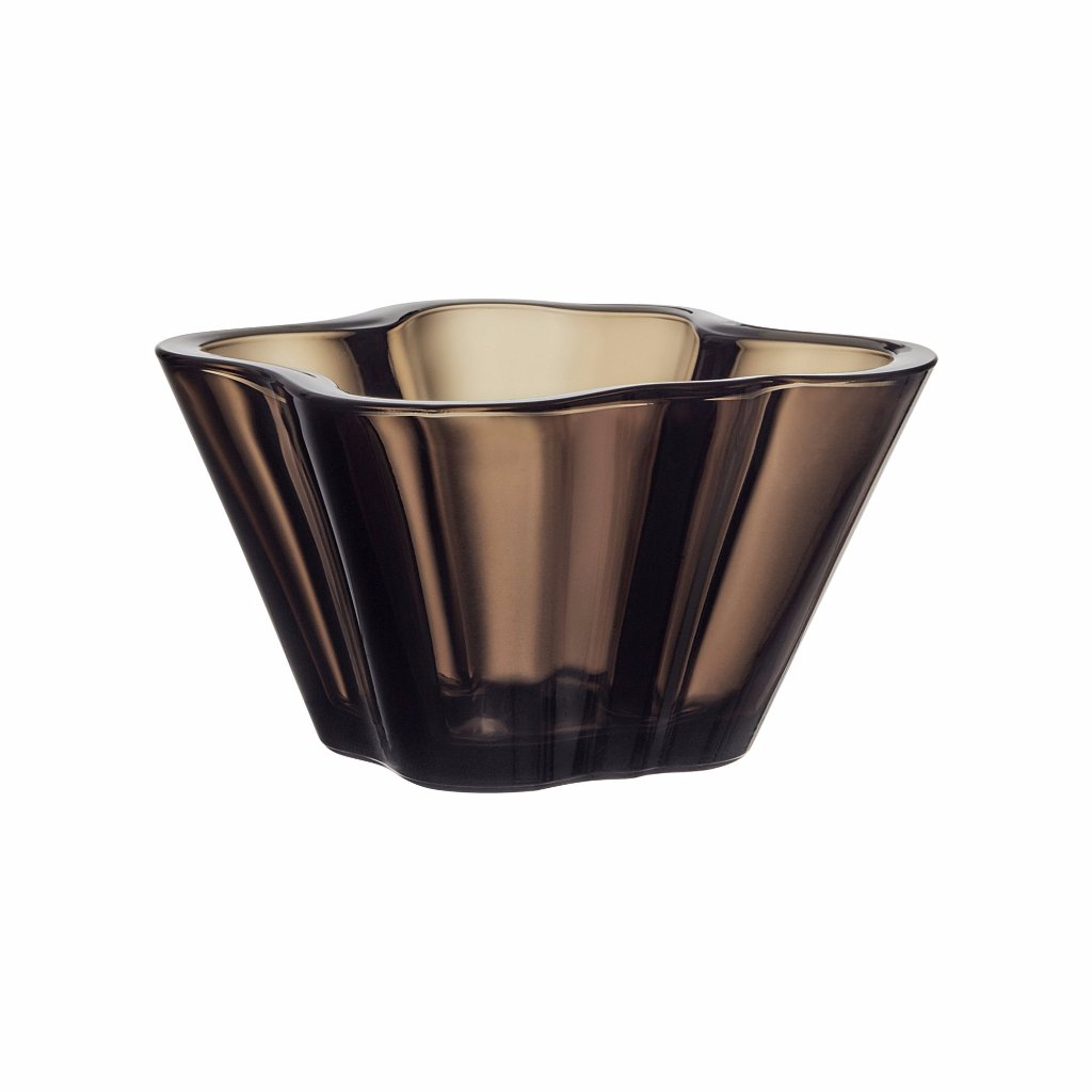 Alvar Aalto Collection bowl sand 75 mm by Iittala