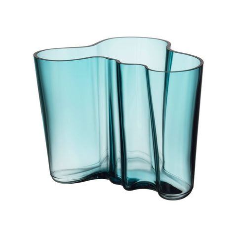 Aalto vase sea blue 160 mm