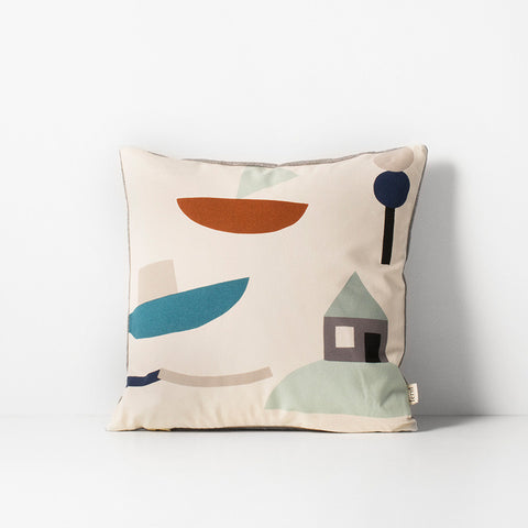 Seaside Cushion off white