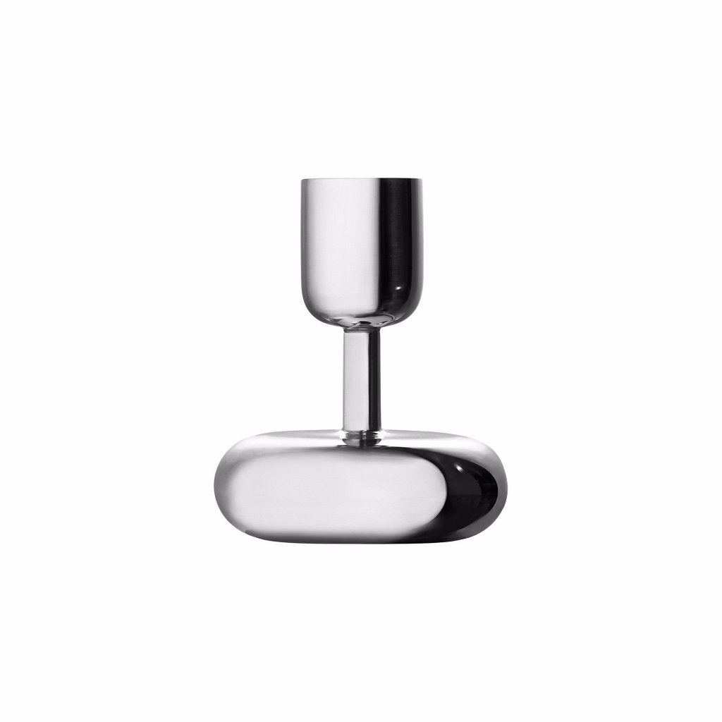 Nappula candleholder 107 mm steel by Iittala