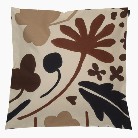 Suvi Cushion Cover, beige & brown 45x45 cm