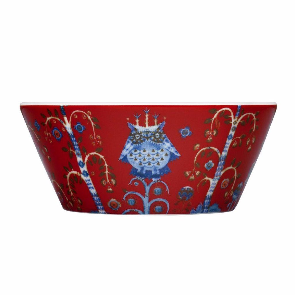 Taika Bowl 0,3l red by Iittala