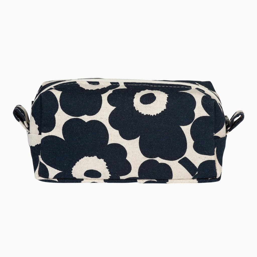 Marimekko Tiise Cosmetig Bag, cotton & dark blue