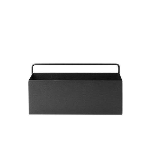 Wall Box - Black - Rectangle