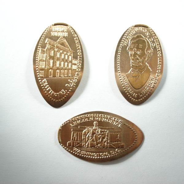 Abraham Lincoln 3 Coin Set