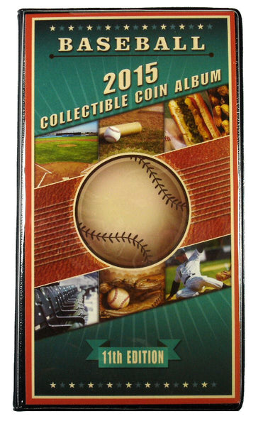 Baseball 2015 Collectible Coin Album 11th Edition
