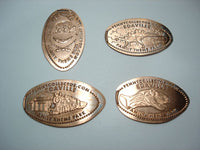 Edaville Family Theme Park 4 Coin Set