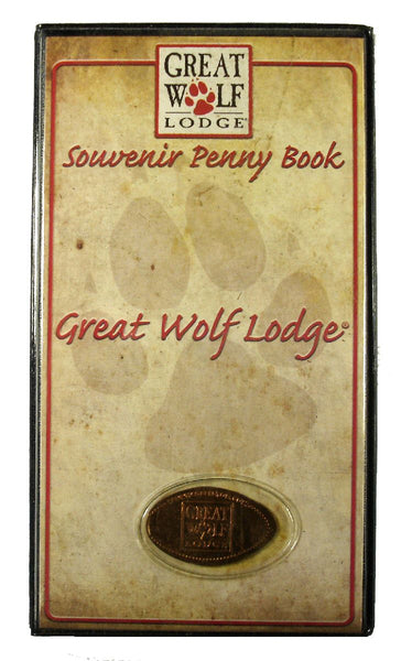 Great Wolf Lodge Souvenir Penny Book with Bonus Coin