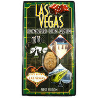 Las Vegas Souvenir Elongated Coin Album with Bonus Coin