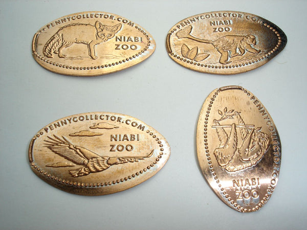 Niabi Zoo 4 Coin Set Machine 5