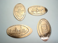 Old Town San Diego 4 Coin Set