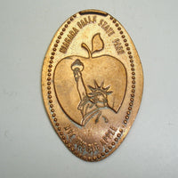 Pressed Penny: Niagra Falls State Park - Statue of Liberty