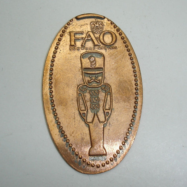 Pressed Penny: FAO - Toy Soldier