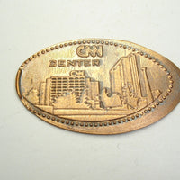 Pressed Penny: CNN Center