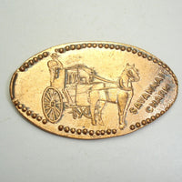 Pressed Penny: Savannah Charm - Horse and Carriage