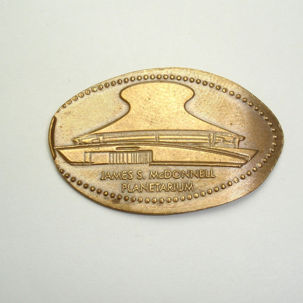 Pressed Penny: James S. McDonell Planetarium
