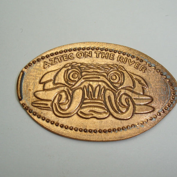 Pressed Penny: Aztec on the River - Logo