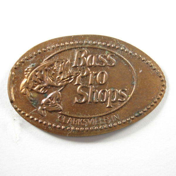 Pressed Penny: Bass Pro Shops - Clarksville, IN
