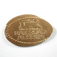 Pressed Penny: California State Railroad Museum - Logo