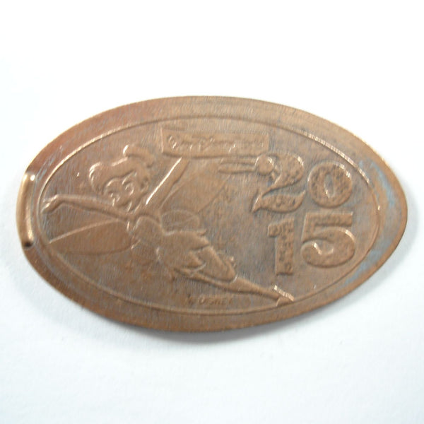 Pressed Penny: Disney Tinkerbell 2015
