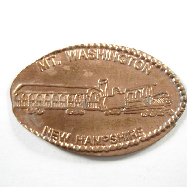 Pressed Penny: Mt. Washington New Hampshire - Train