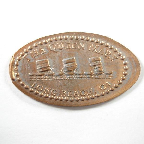 Pressed Penny: The Queen Mary - Long Beach, CA