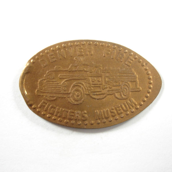 Pressed Penny: Denver Fire Fighter Museum - Firetruck