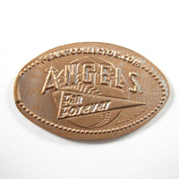 Pressed Penny: Angels Fan Forever - Baseball