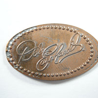 Pressed Penny: Dale Earnhardt Signature