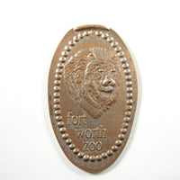 Pressed Penny: Fort Worth Zoo - Lion