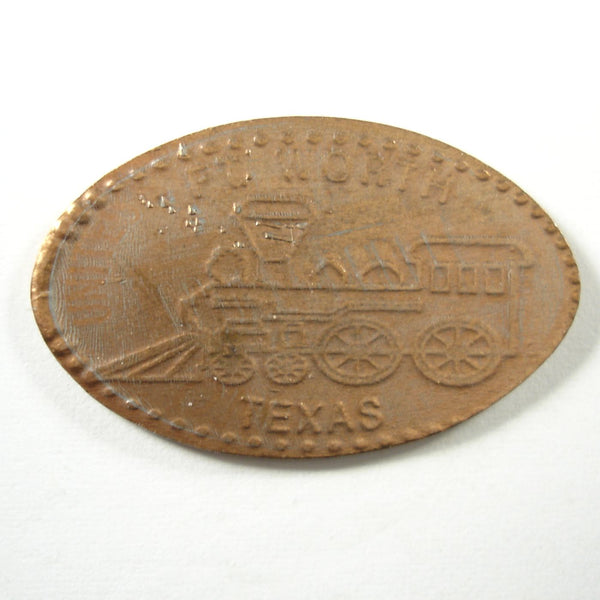 Pressed Penny: Fort Worth Texas - Train