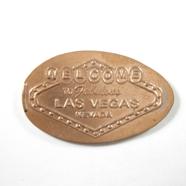 Pressed Penny: Welcome to Fabulous Las Vegas Nevada Sign