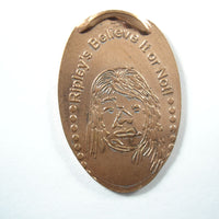 Pressed Penny: Ripley's Believe It Or Not - Face