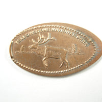 Pressed Penny: Yellowstone National Park - Deer