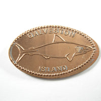 Pressed Penny: Galveston Island - Shark