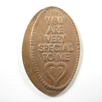 Pressed Penny: You Are Very Special To Me - Heart