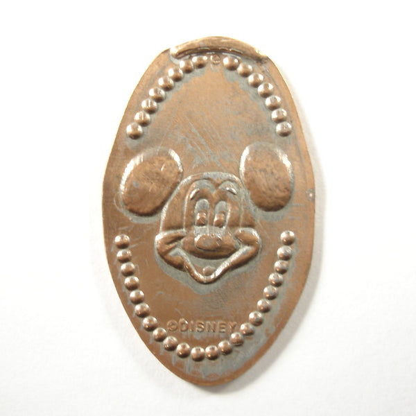 Pressed Penny: Mickey Mouse - Smiling Mickey Face