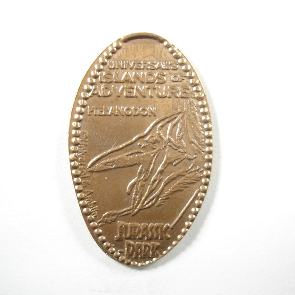 Pressed Penny: Universal Islands of Adventure - Jurassic Park - Pteranodon