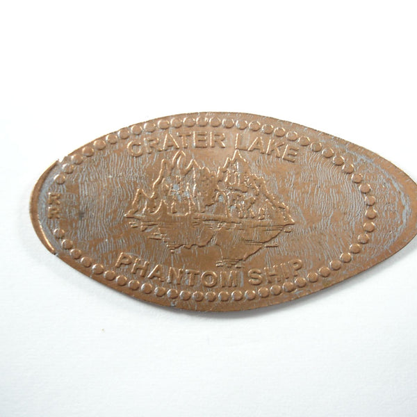 Pressed Penny: Crater Lake - Phantom Ship