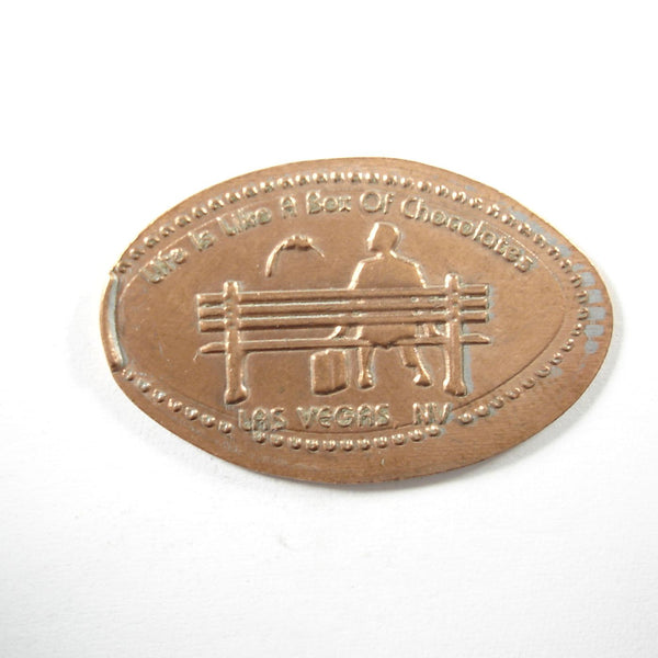 Pressed Penny: Life is Like a Box of Chocolates - Las Vegas, NV - Forrest Gump
